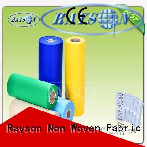 Rayson Non Woven Fabric Custom non woven textile Suppliers for sofa upholstery