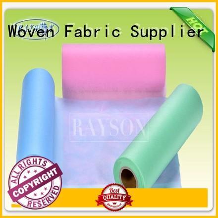 black non woven fabric 70gr medical non woven fabric Rayson Non Woven Fabric Brand