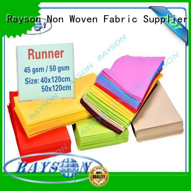 Rayson Non Woven Fabric 20m wholesale for hotel