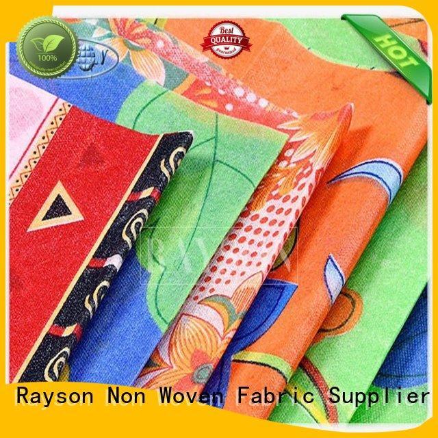 Quality Rayson Non Woven Fabric Brand woven print wipe