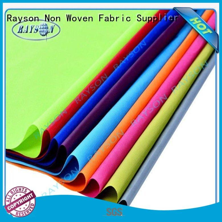Rayson Non Woven Fabric Wholesale spunmelt nonwovens factory for shopping bags