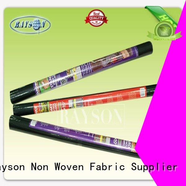 Rayson Non Woven Fabric customized landscape blanket resistant for root control bags