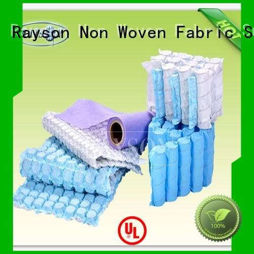 Quality Rayson Non Woven Fabric Brand 10gram pp spunbond nonwoven fabric