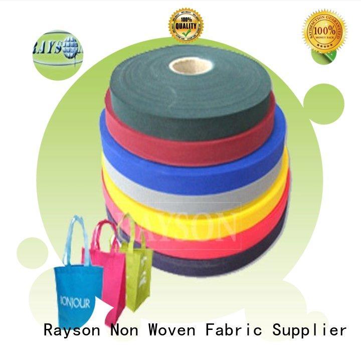woven vs nonwoven fabric creditable year Rayson Non Woven Fabric Brand