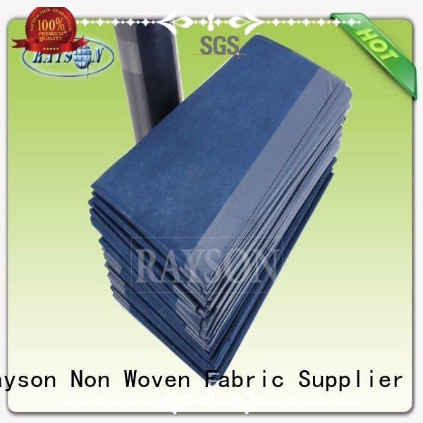 Rayson Non Woven Fabric Brand 30x40x12 pollution disposable bed sheets online