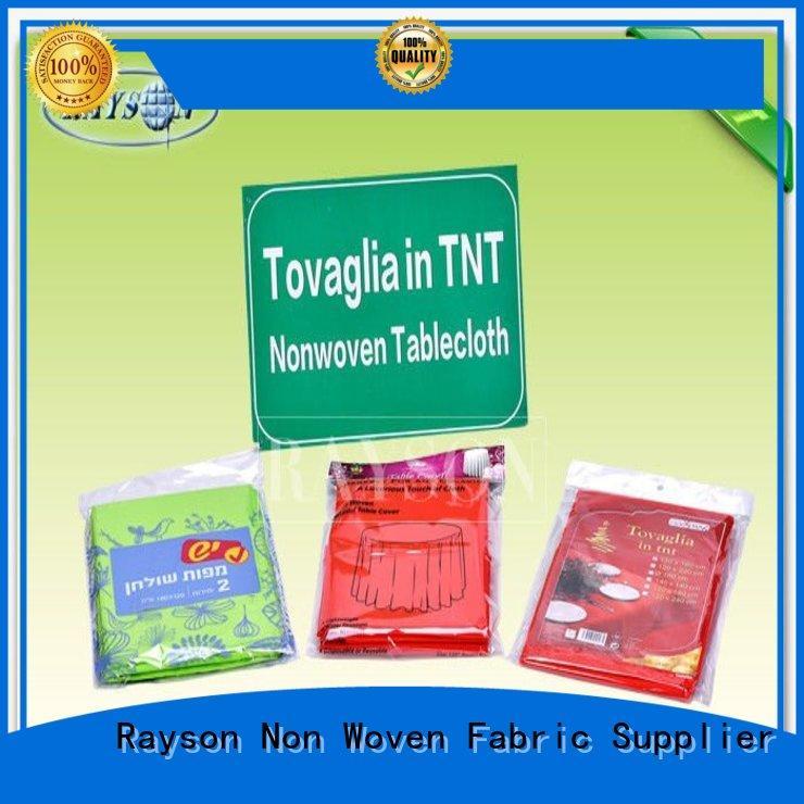 Rayson Non Woven Fabric materials wholesale for restaurants