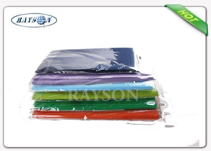 Eco-friendly Disposable 1m*1m 100% Polypropylene Spunbond Non Woven Table Cloth Runner Made In China-1