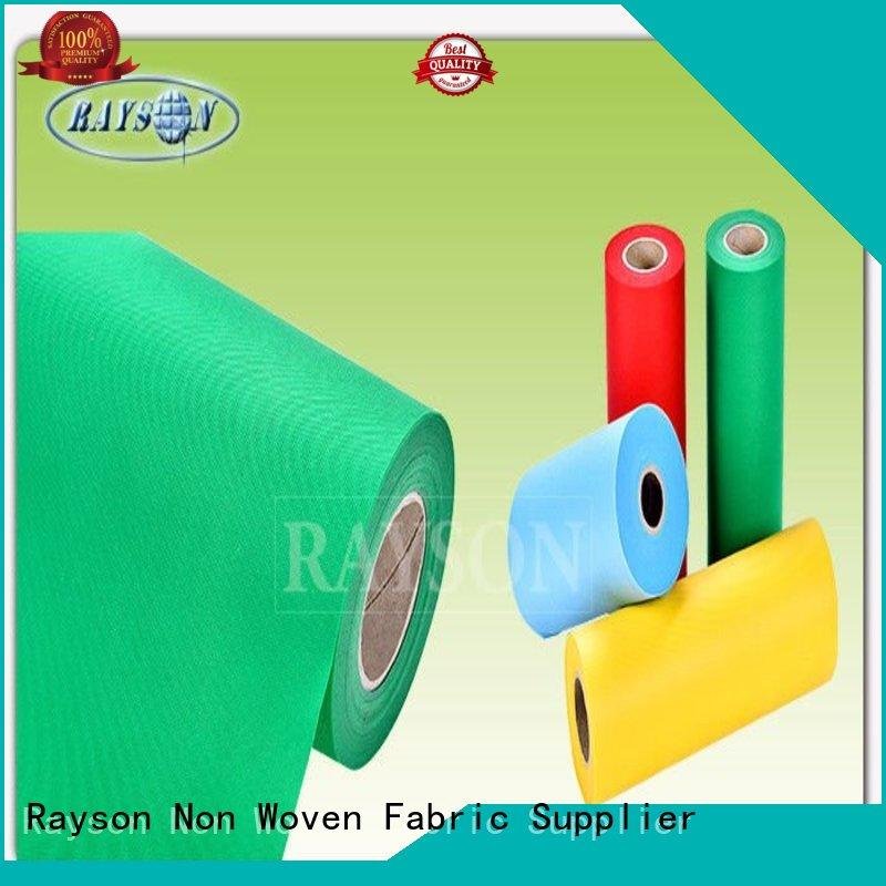 Quality Rayson Non Woven Fabric Brand producing pp spunbond nonwoven fabric