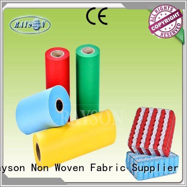 woven vs nonwoven fabric temperature convenient frost Warranty Rayson Non Woven Fabric