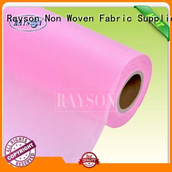 Wholesale rayson spunbond non woven fabric manufacturer 039s Rayson Non Woven Fabric Brand