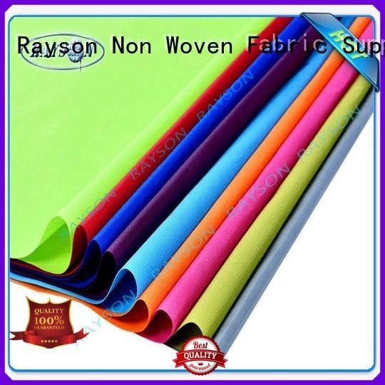 Rayson Non Woven Fabric Brand horticulture woven vs nonwoven fabric nonslip supplier