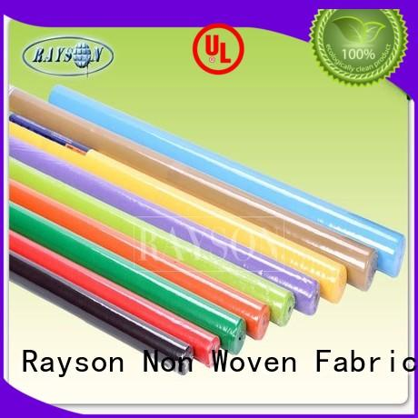 Rayson Non Woven Fabric customized bordeaux for restaurants
