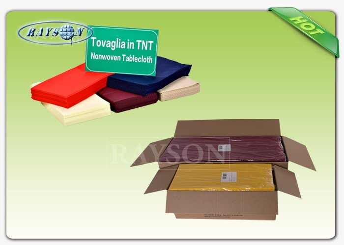 Biodegradable anti bacteria spun bonded non woven fabric tnt tablecloth
