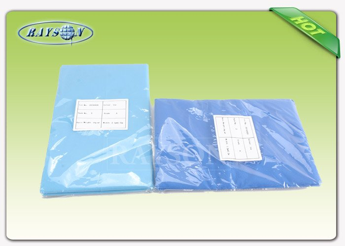 Zero Pollution Customized Disposable Bed Sheet Polypropylene 120 cm × 220cm