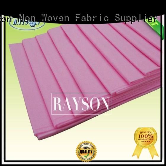 Rayson Non Woven Fabric High-quality disposable bed pads for kids Supply for beauty salon use