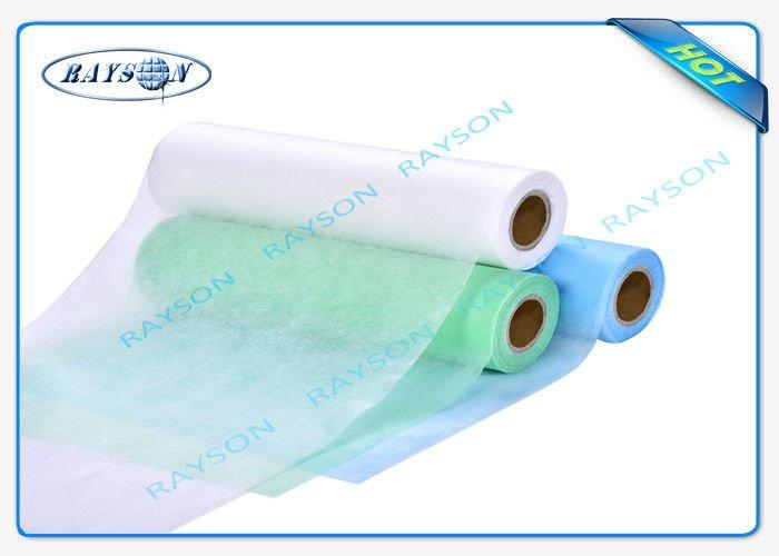 OEKOTEX Standard Non Woven Bed Sheet For Nursing Home , Disposable Bed Covers