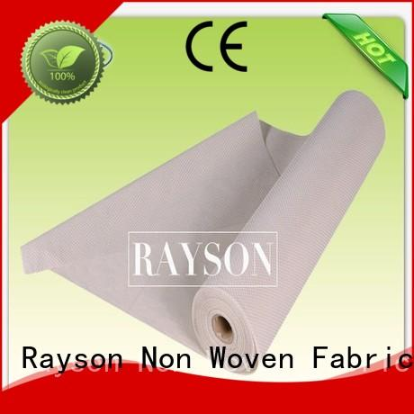 non slip vinyl fabric package cutting Warranty Rayson Non Woven Fabric