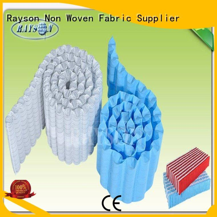 Rayson Non Woven Fabric Brand reducing textile flexible tnt pp spunbond nonwoven fabric