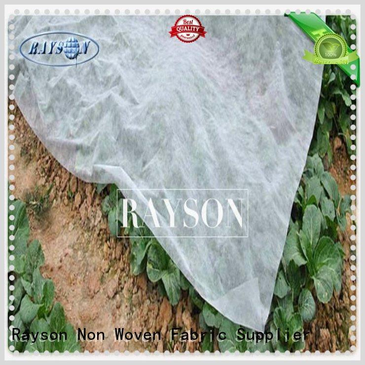 Rayson Non Woven Fabric breathable garden fleece fabric cloth for weed control