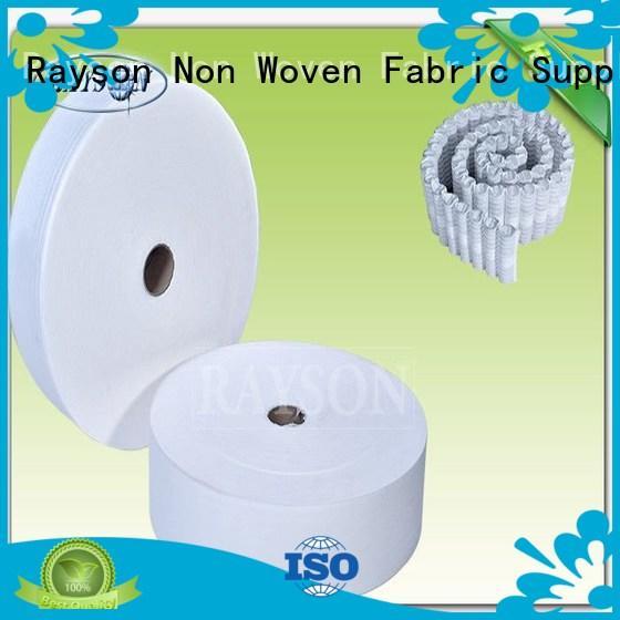 Quality Rayson Non Woven Fabric Brand woven vs nonwoven fabric fleece bright