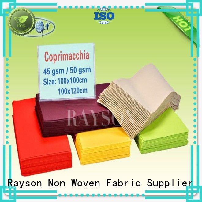 populared manufacturer for hotel Rayson Non Woven Fabric