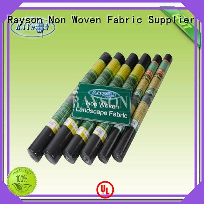 Rayson Non Woven Fabric low landscape matting wholesale for ground cover
