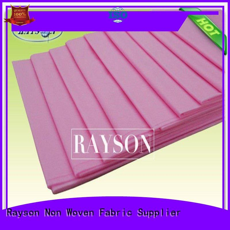 Rayson Non Woven Fabric Brand 35x45x10 folding nursing disposable bed sheets