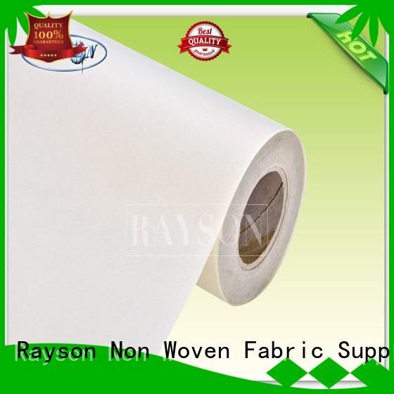 woven vs nonwoven fabric witer damond Rayson Non Woven Fabric Brand company
