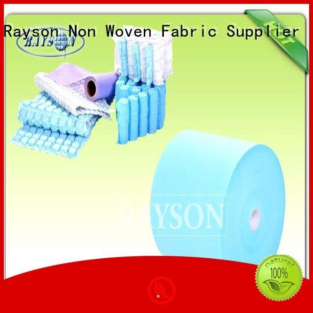 60gr variety pot Rayson Non Woven Fabric Brand woven vs nonwoven fabric factory
