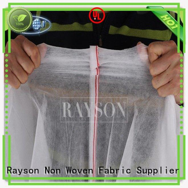 Rayson Non Woven Fabric customized industrial landscape fabric innocuous for seed blankets