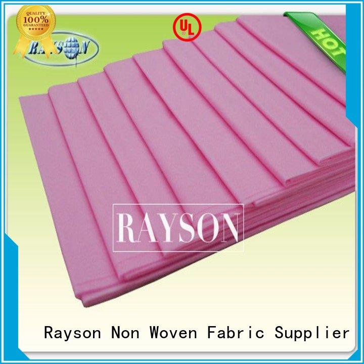 disposable bed sheets online lanscaping 2cm Rayson Non Woven Fabric Brand