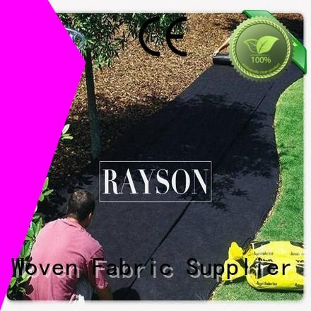 Rayson Non Woven Fabric treatment weed liner for the garden wholesale for root control bags