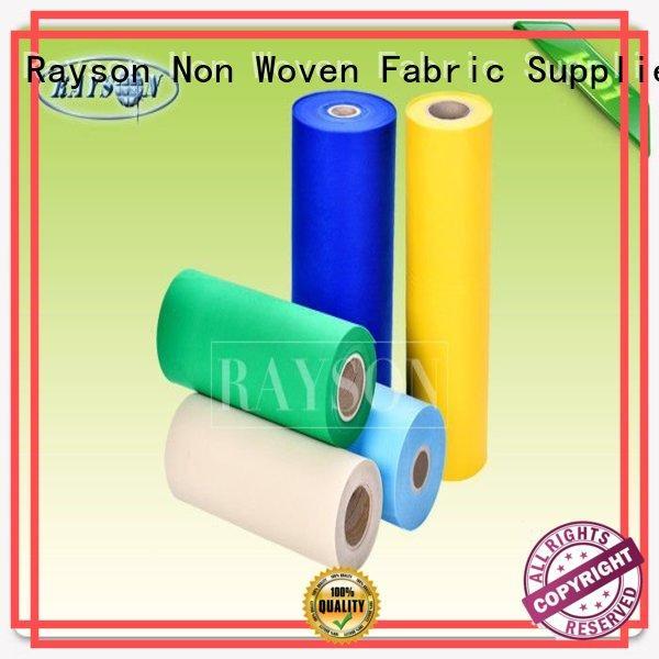 woven vs nonwoven fabric fashion plain weeds Warranty Rayson Non Woven Fabric
