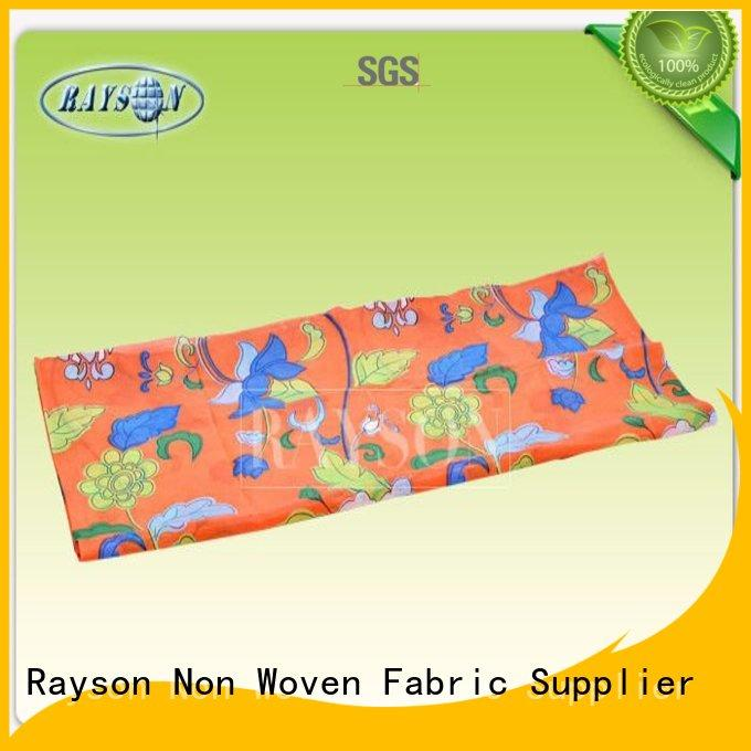Rayson Non Woven Fabric Latest non woven bag screen printing machine company for shopping bag