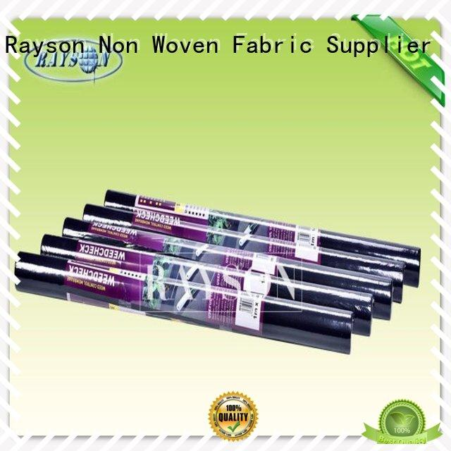 Rayson Non Woven Fabric high quality biodegradable landscape fabric manufacturer for ground cover
