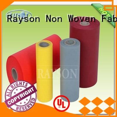Hot pp spunbond nonwoven fabric pre Rayson Non Woven Fabric Brand