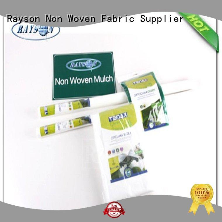 Rayson Non Woven Fabric customized weed control netting ground for seed blankets