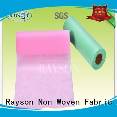 witer outdoor permeable 50 Rayson Non Woven Fabric Brand medical non woven fabric supplier