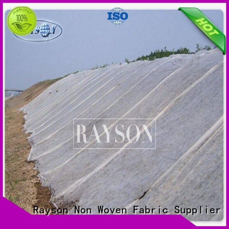 Rayson Non Woven Fabric high quality geotextile membrane for gravel driveways ppsb for root control bags