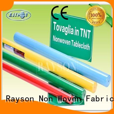 usage manufacturer for garden Rayson Non Woven Fabric