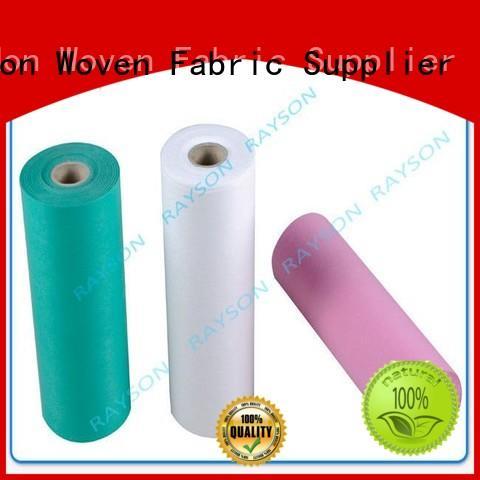 pocket Custom crop medical non woven fabric processing Rayson Non Woven Fabric