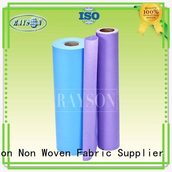 Wholesale ultrasound cultivating non slip fabric roll Rayson Non Woven Fabric Brand