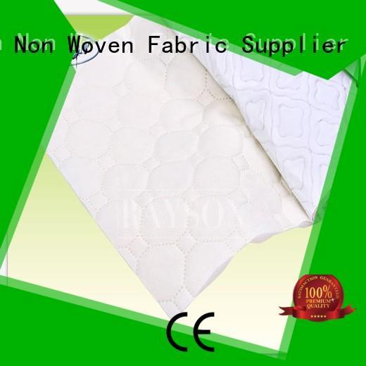 non slip vinyl fabric covering piece non slip fabric roll Rayson Non Woven Fabric Brand