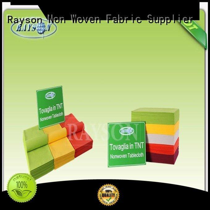 runner supplier for picnic Rayson Non Woven Fabric