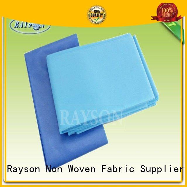 Wholesale plain disposable bed sheets online Rayson Non Woven Fabric Brand