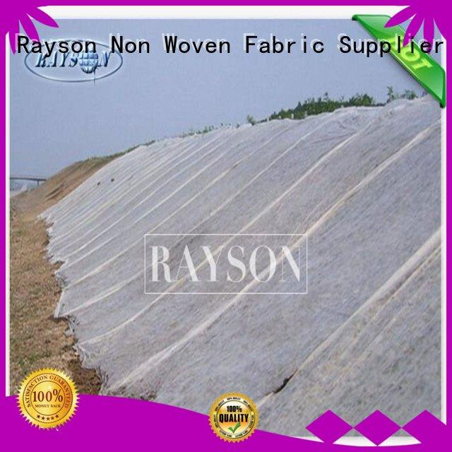 Rayson Non Woven Fabric high quality insulated pots for plants test for weed control