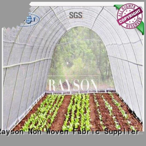 laying garden fleece rolls 10m for weed control Rayson Non Woven Fabric
