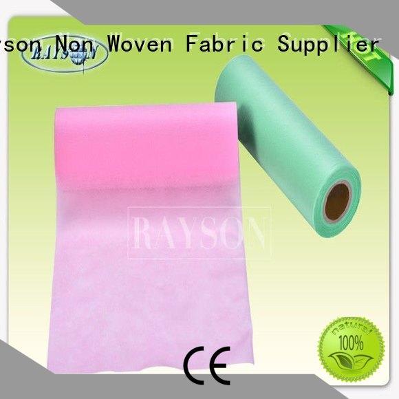 Rayson Non Woven Fabric Brand monouso join custom black non woven fabric