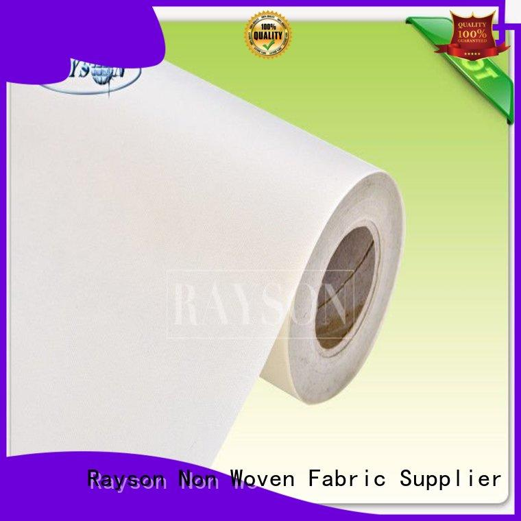 economical ttreated pp spunbond nonwoven fabric or Rayson Non Woven Fabric