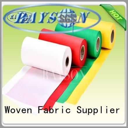 woven vs nonwoven fabric best Rayson Non Woven Fabric Brand pp spunbond nonwoven fabric
